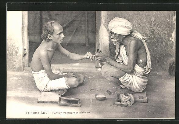 AK Pondichery, Barbier manucure et pedicure