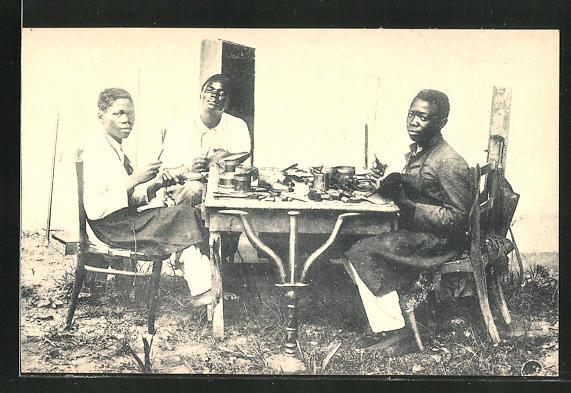 AK Matadi, Cordonniers, afrikanische Schuhmacher