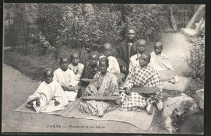 AK Dakar, Marabout et ses eleves, afrikanische Schule