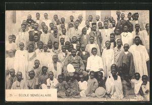 AK École Sénégalaise, Schulkinder