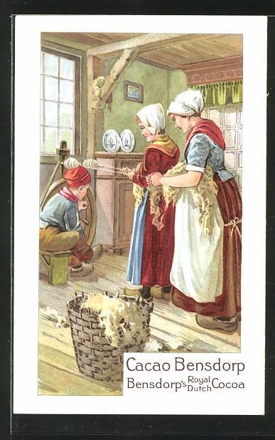 AK Cacao Bensdorp, Bensdorp's Royal Dutch Cocoa, Spinnerinnen
