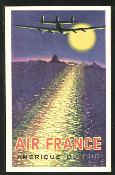 AK Amerique du Sud, Air France, Tourismus