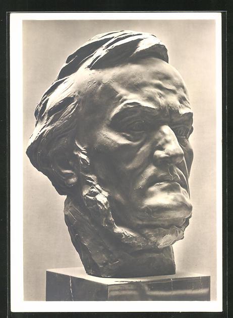 Künstler-AK Arno Breker: Büste Richard Wagner