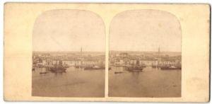 Stereo-Fotografie unbekannter Fotograf, Ansicht Venedig, Venedig, Panorama