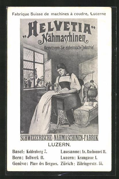 AK Luzern, Reklame für