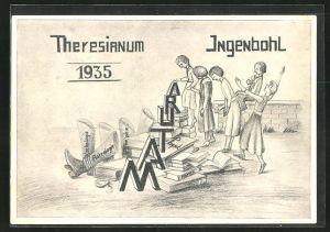 AK Ingenbohl, Absolvia Matura 1935 des Theresianum