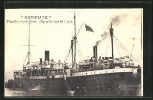 AK Passagierschiff Euphrate vor der Küste