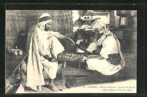 AK Algérie, Joueurs de Dames, Männer spielen Dame
