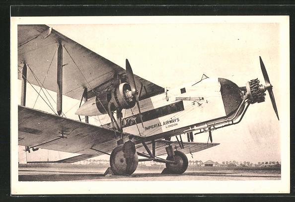 AK Imperial Airways, Avion Argosy, Passagierflugzeug