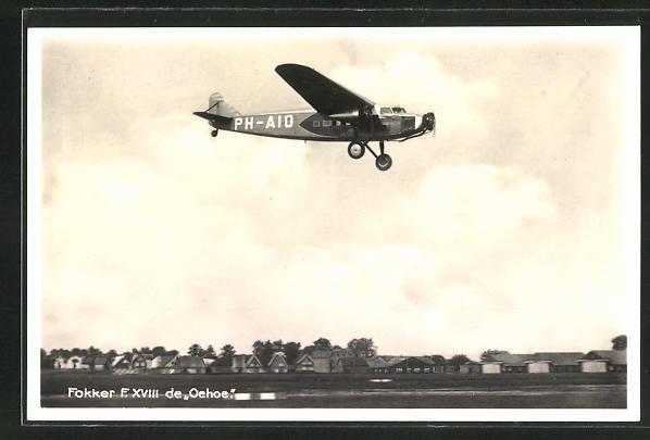 AK Fokker F.XVIII de