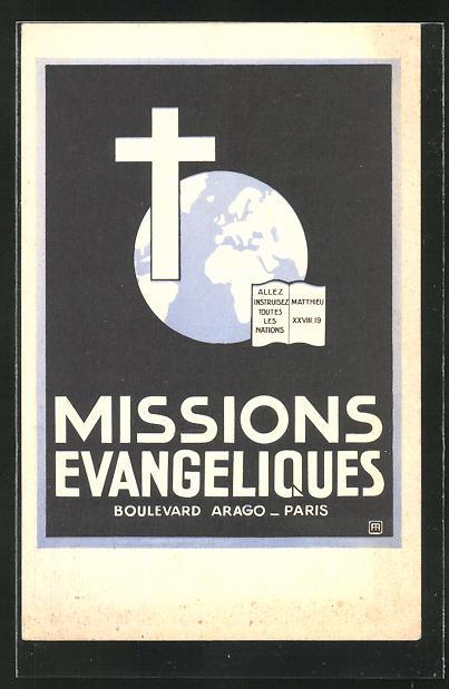 AK Paris, Societe des Missions Evangeliques