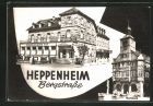 Bild zu AK Heppenheim an ...