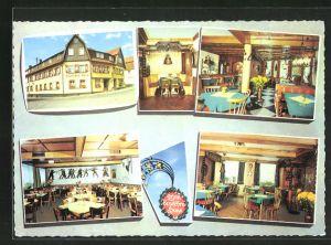 AK Hilders /Rhön, Innen- und Aussenansicht Hotel Deutsches Haus