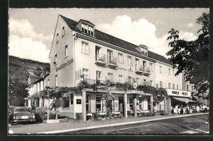 AK Kamp / Rh., Hotel Deutsches Haus