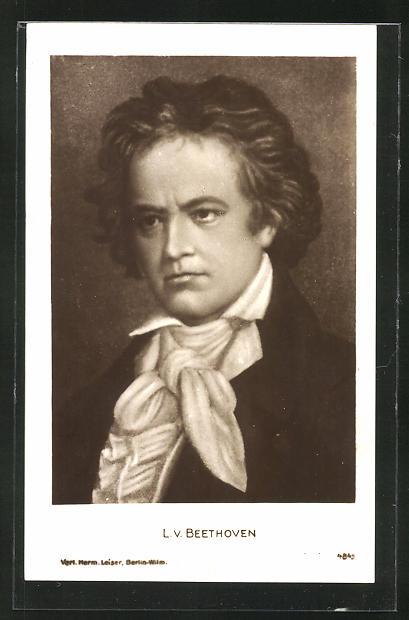 AK Komponist Ludwig van Beethoven