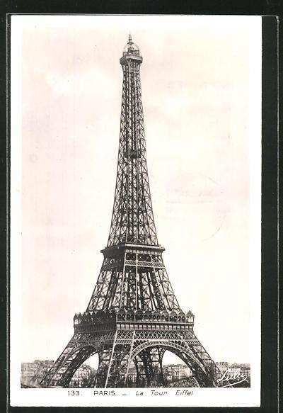 AK Paris, La Tour Eiffel, Eiffelturm