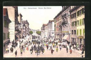 AK Biel, Geschäfte in der Dufourstrasse