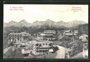 AK Tatrafüred, Die Hohe Tatra