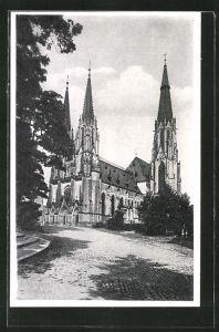 AK Olmütz, Sicht auf den Dom