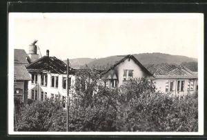 AK Oberburg, Grossbrand der Porgressa Holzwaren AG 1933