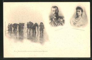AK Zar Nikolaus II. von Russland und Alexandra Feodorowna, Fotografen