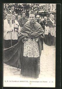 AK Cardinal Amette, Archeveque de Paris
