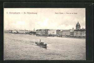 AK St. Petersbourg, Vue de la Neva