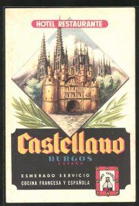 AK Burgos, Hotel-Restaurante Castellano