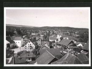 AK Merenschwand, Blick über die Dächer der Ortschaft