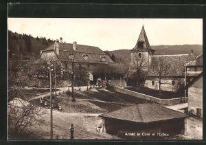AK Arzier, la Cure et l'Eglise