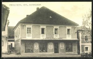 AK Aistersheim, Kurzwaren und Galanterieartikel Franz Kettl