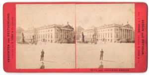 Stereo-Fotografie E. Linde & Co., Berlin, Ansicht Berlin, Opernhaus