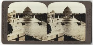 Stereo-Fotografie American Stereoscopic Co., Ansicht St. Louis, MO, World's Fair, Festival Hall