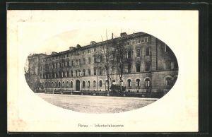 Präge-AK Aarau, Infanteriekaserne