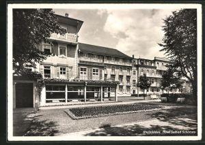 AK Rheinfelden, Hotel-Solbad Schützen