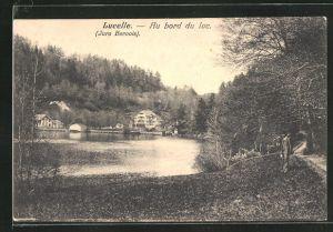 AK Lucelle, au bord du lac
