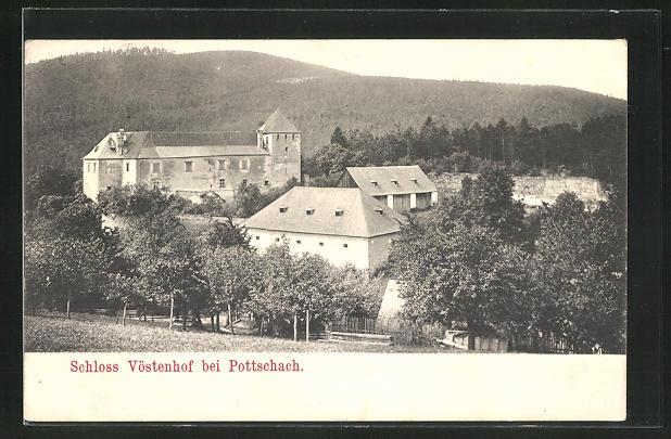 AK Pottschach, Schloss Vöstenhof
