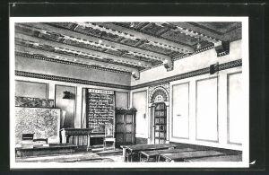 AK Berndorf, Volks- u. Hauptschulen, Lehrzimmer im byzantinischen Stile, Innenansicht