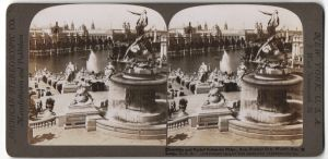 Stereo-Fotografie American Stereoscopic Co., Ansicht St. Louis, MO, World's Fair, Electricity and Varied Industries Bldg