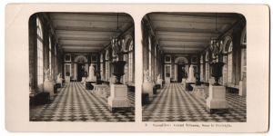 Stereo-Fotografie N.P.G., Berlin-Steglitz, Ansicht Versailles, Grand Trianon, Sous le Péristyle