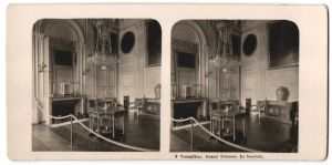 Stereo-Fotografie N.P.G., Berlin-Steglitz, Ansicht Versailles, Grand Trianon, Le boudoir