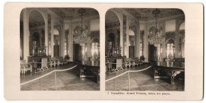 Stereo-Fotografie N.P.G., Berlin-Steglitz, Ansicht Versailles, Grand Trianon, Salon des glaces