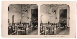 Stereo-Fotografie N.P.G., Berlin-Steglitz, Ansicht Versailles, Grand Trianon, Salon de famille