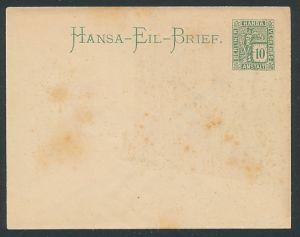 AK Umschlag der Private Stadtpost