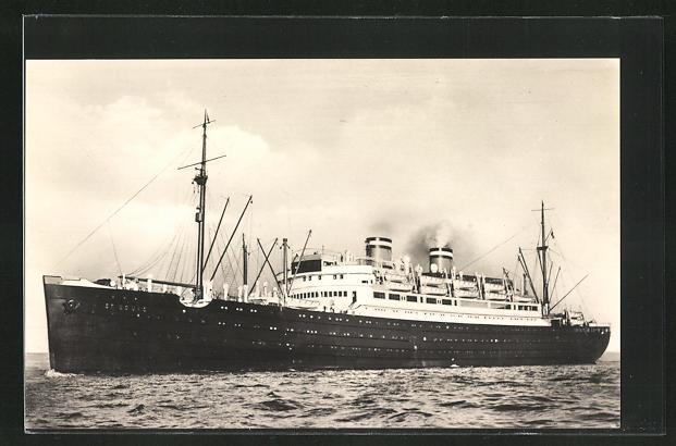 AK Passagierschiff St. Louis der Hamburg-Amerika Linie