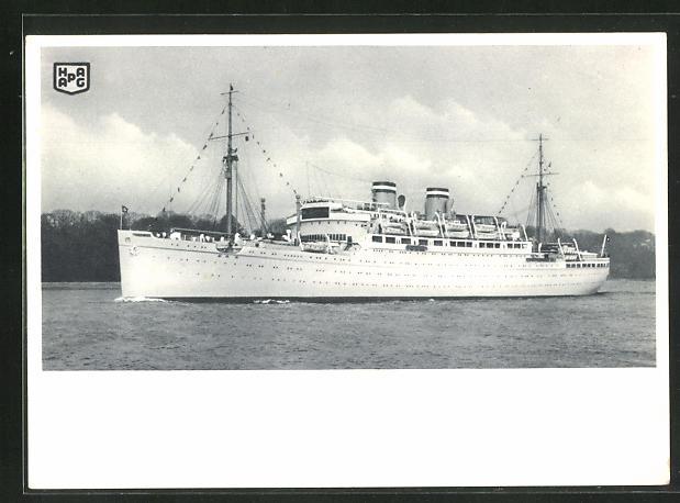 AK Passagierschiff Milwaukee der Hamburg-Amerika Linie