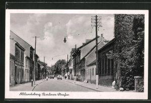 AK Altlandsberg, Blick in die Berliner Strasse