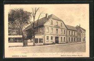 AK Springe a. Deister, Köhler's Hotel (früher Meyer)