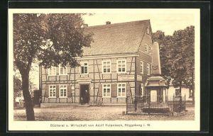 AK Rüggeberg i. W., Bäckerei und Gasthaus von Adolf Rutenbeck