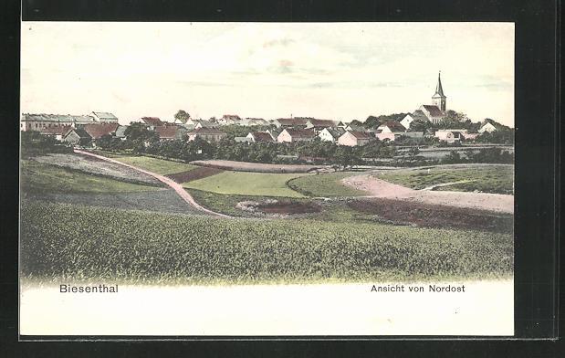 AK Biesenthal, Ansicht von Nordost